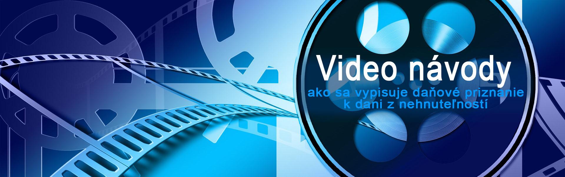 Daň z nehnuteľnosti - videonávody